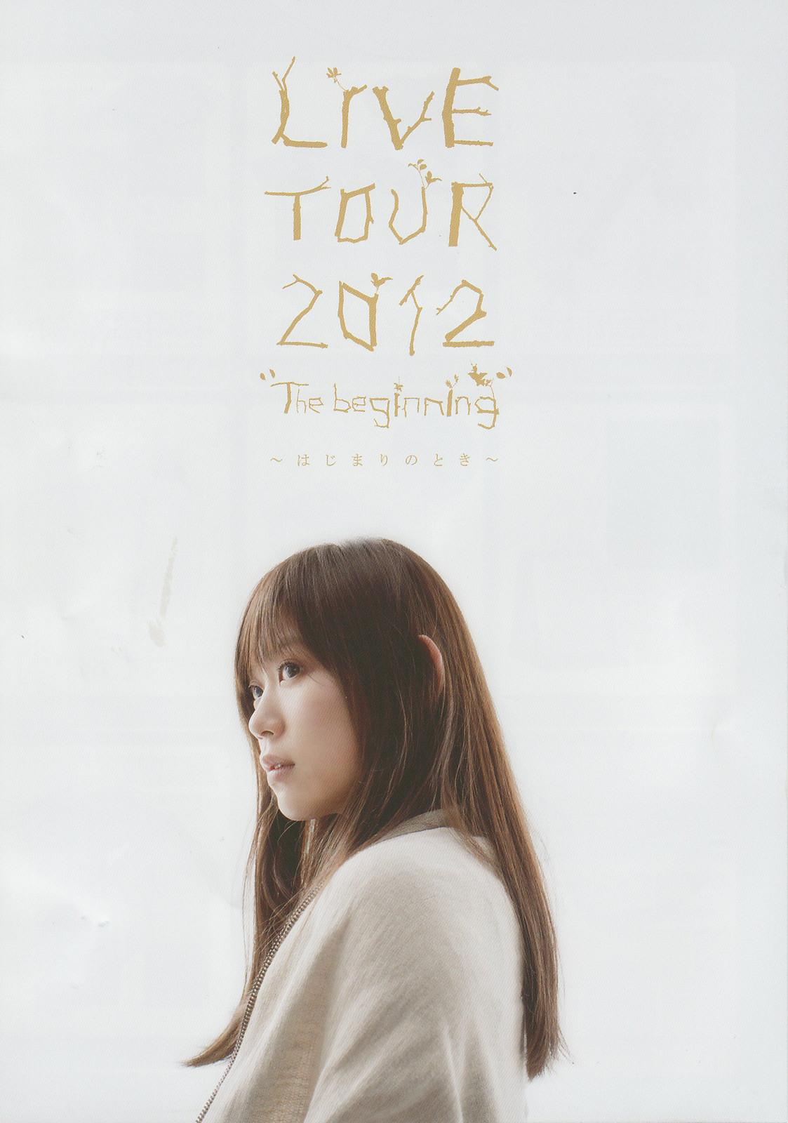 """絢香 「LIVE TOUR 2012""""The begi..."""